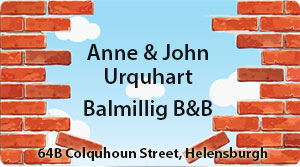 Anne and John Urquhart Balmillig B&B